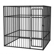 vidaXL Дворна клетка за кучета, 2x2x2 м
