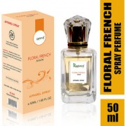 KAZIMA Floral French Attar Spray Perfume For Men 50ML