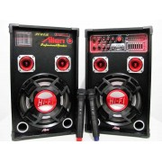 Set 2 boxe cu amplificare si MP3 Alien AN-E07