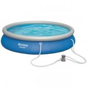 Bestway familjepool - Fast set pool 9.677L 457x84cm - Bestway familjepool 57313