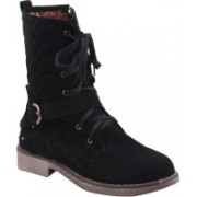 Adorn Active And Cool Boots For Women(Black)