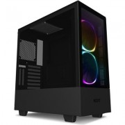 Кутия NZXT H510i Elite Smart Matte Mid-Tower, Black