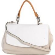 Picco Massimo Pucbu White, Grey Hand-held Bag