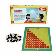 Toiing Pebble TOI 2-in-1 Traditional Indian Fun Strategy Board Game for Kids (Unique Birthday Gift for Boys and Girls)
