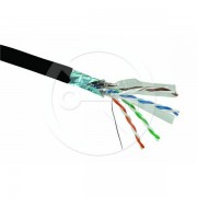 Solaris 500m Outdoor Shielded FTP Cat6 Cable MXL-SXKD-6-FTP-PE