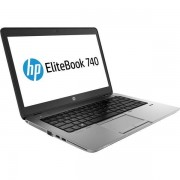 "Laptop Refurbished HP EliteBook 740 G2 (Procesor Intel® Core™ i5-5200U (3M Cache, up to 2.70 GHz), 14.0"", 4GB, 128 GB SDD, Intel HD Graphics 5500, Wi-Fi, 3G, Win10 Pro)"