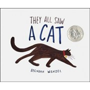 They All Saw a Cat, Hardcover/Brendan Wenzel