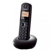 """Безжичен телефон Panasonic KX-TGB210FXB, 1.4""""(3.56 cm) монохромен дисплей, черен"""