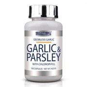 Scitec Nutrition Garlic & Parsley, 100 caps