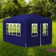 vidaXL Šator za zabave 3 x 4 m plavi