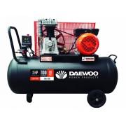 Компресор бутален 3.0HP/2.2 kW/ 100 l/ ремъчен, DAC100C, DAEWOO