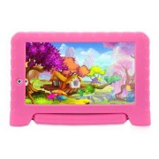 Multilaser Tablet Multilaser Kid Pad Plus Rosa 1GB Android 7 Wifi Memória 8GB Quad Core Multilaser - NB279 NB279