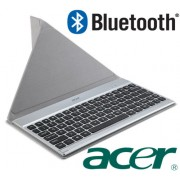 ACER Crunch Tablet Bluetooth Universal Keyboard Stand QWERTY W4-820