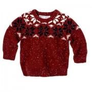 Pulover copii tricotat iarna