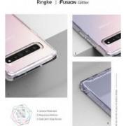 Husa de Protectie Ringke Samsung Galaxy S10 5G Fusion Transparent