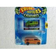 Hot Wheels Color Shifter Creatures ~ Custom 77 Dodge Van ~ Colors Vary