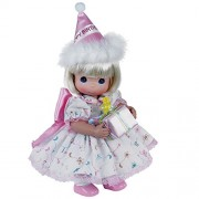 Precious Moments Dolls by The Doll Maker, Linda Rick, Birthday Wishes Blonde, 12 inch Doll