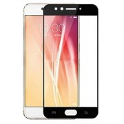 BM Oppo F3 Plus (Black) Tempered glass
