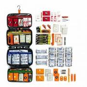 Relief Pod RP122-104K-001 Deluxe Emergency Kit - комплект с аптечка, инструменти и предмети от първа необходимост