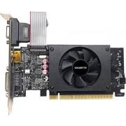 Gigabyte GV-N710D5-2GIL - Grafische kaart - GF GT 710 - 2 GB GDDR5 - PCIe 2.0 x8 laag profiel - DVI, D-Sub, HDMI