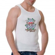 Good Boy Gone Bad Amazing Secret Inside Tank Top T Shirt White