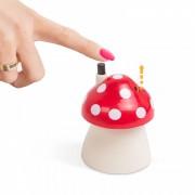 Fogpiszkáló adagoló tárolóval - gomba