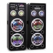 Skytec KA-28 set di altoparlanti karaoke 1200W