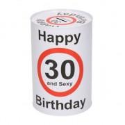 Geen Happy birthday 30 jaar spaarpot