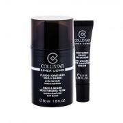 Collistar Linea Uomo Face & Beard confezione regalo fluido idratante 50 ml + crema contorno occhi Anti-Wrinkle Eye Contour Cream 8,5 ml uomo