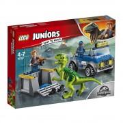 LEGO Juniors - Jurassic World, Camionul de salvare al Raptorului 10757
