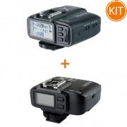 Kit Godox X1C Transmitator + X1R-C Receptor 2.4G TTL pentru Canon