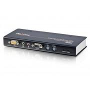 Trasmettitore Estensore Digitale KVM USB VGA Over LAN con Audio