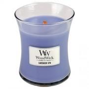 WoodWick Lumânare parfumată Lavender Spa 275 g