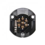 Socket 7+1-pin metal