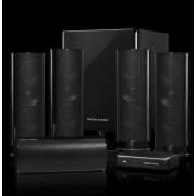 Harman/Kardon HKTS 65 5.1canali Nero set di altoparlanti