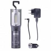 Lanterna de lucru cu acumulator 3.7V 4400mAh LED 10x0.5W + 1W UV LED
