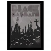 Poster înrămat Black Sabbath - Cross - PYRAMID POSTERS - FP10802P
