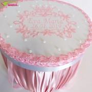 Cutie Trusou Botez Royal Pink