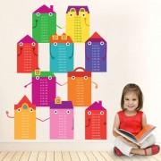 Stickere perete copii Casutele Educative - 103 x 124 cm