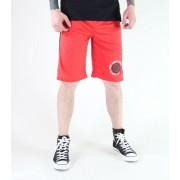 pantaloni scurți bărbați SANTA CRUZ - CIRCULA BASCHET - ROȘIE - AFACERI