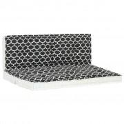 Sonata Градински възглавници за палети, 2 бр, на принтове