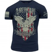 Grunt Style Grugnito stile americano Performance t-shirt - grande - Marina