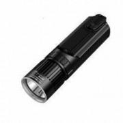Pachet Lanterna Nitecore SRT9 + NL1826R 2150 Lumeni 246 Metri Leduri Secundare RGB si UV Acumulatori Inclusi
