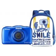 Nikon COOLPIX W100 с рюкзаком (синий)