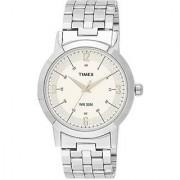 Timex Quartz White Round Men Watch TI000T10500