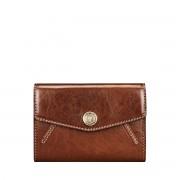 Maxwell Scott Bags Luxus Leder Damen Geldbörse - Fontanelle - Brieftasche, Portemonnaie, Geldbeutel, Kreditkartenetui