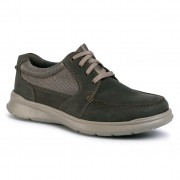 Обувки CLARKS - Cotrell Lane 261486527 Olive Combination