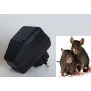 Aparat electric staționar cu ultrasunete pentru alungarea rozătoarelor, pentru o suprafață de 30 m.p. (pisic electronic)