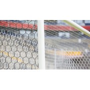 Plasa poarta fotbal 7,32 x 2,44m, fir 3,5mm, ochiuri hexagonale