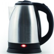 Bluebells India ™Fast Water Kettle Premium Strix Thermostat Control Kettle LED Indicator Light Cordless Kettle, Auto Shut Off Electric Kettle(1.76 L, Silver)